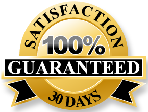 All products have a 30 day full money-back Satisfaction Guarantee