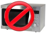 Your Microwave is the highest source of EMFs in your house, so stay away 3-5 feet when it is in operation.