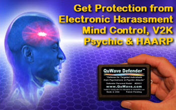 QuWave Defender Stops Electronic Harassment